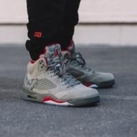 Jual Nike Jordan 5 Retro Camo  Premium Original / sepatu nike / sneakers Murah