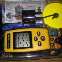Portable Fish Finder 2.0 inch - Alat untuk mengetahui keberadaan ikan di air