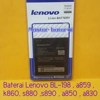 Baterai Lenovo BL-198 / BL198 , a859 , k860 , s880 ,s890 , a850 , a830
