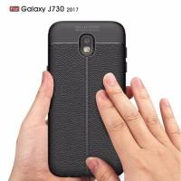 Samsung J3 J5 J7 Pro 2017 case back cover carbon hp LEATHER AUTO FOCUS
