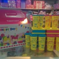 Tupperware happy days set READY 9 box HARGA ASLI 550.000