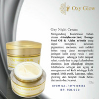 OXYGLOW NIGHT CREAM