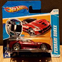 Hot wheels ferrari 599xx short card. barang langka