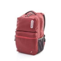 Tas American Tourister Dodge Backpack Rubyy Wine - Merah