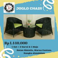 Kursi / Furniture Rotan Sintetis (Model: Joglo Chair)