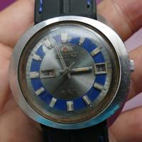 Jam tangan ORIGINAL vintage kuno jadul ORIENT Automatic diameter besar