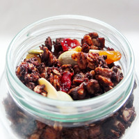 GRANOLA DARK CHOCOLATE - CRUNCHY 250GR