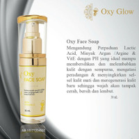 OXYGLOW FACE SOAP