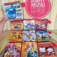 Tempat Angpau anak-anak Sleting/ Dompet Angpao imlek/Souvenir anak2