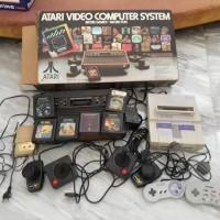 Jual Console game vintage dan antik (Atari dan Super Nintendo) Murah