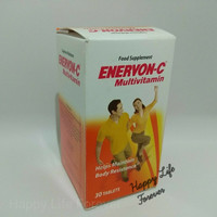 Harga enervon c suplemen makanan multivitamin 30   antitipu.com