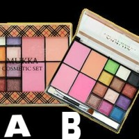 Eye Shadow Palet Mukka 12 warna + Blush On 4 warna MURAH