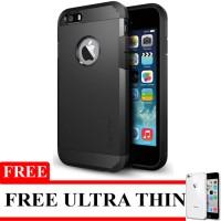 Spigen Slim Armor For iPhone 4/4S Free Ultrathin - Black