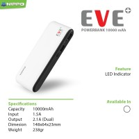 #AC012 - Hippo Power Bank 10000MAH Eve Simple Pack