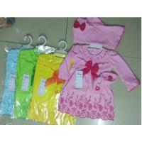 Baju Muslim Bayi Baru Lahir Perempuan Gamis - Wulan