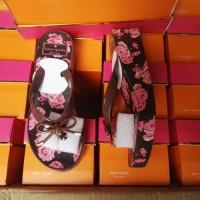 Sandal Jepit / Sendal Jepit Kate Spade Rose Wedges