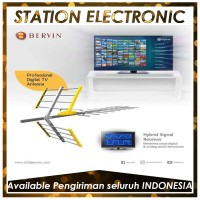Bervin BDA-120 Digital Antena TV Untuk LED/LCD/Plasma [Antena Digital]