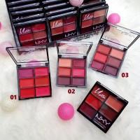 PALET PRO - NYX 6 in 1 Colorstay Lip Cream Pallete / Lipstick Matte
