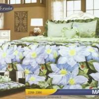 MURAH!! BED COVER SET CALIFORNIA KING 180X200 MARINKA/BEDCOVER