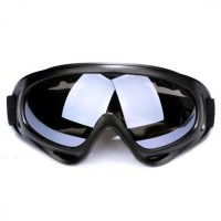 Kacamata Goggles Ski Helm Motor Sepeda ATV Outdoor Vespa - Hitam