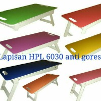Meja Lipat / Laptop / Lesehan / Belajar anak / Ngaji / Makan / Baca