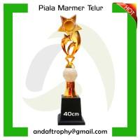 Piala/Trophy Onix/Marmer Tinggi 40cm