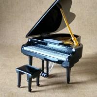 Miniatur Grand Piano Yamaha Black Custom
