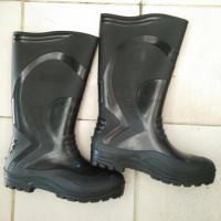 sepatu pria TERBATAS boots safety panjang karet mitzuno boot