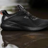 2162aabd2fb35 Jual Sepatu Adidas Alphabounce EM Mesh Core Black Triple Black Premium BNIB  Murah