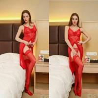 Sale Lingerie Seksi Baju Tidur Panjang Wanita Hot Termurah Fashionab
