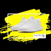 Sepatu Adidas Yeezy Boost 350 V2 Cream White Original Sneakers