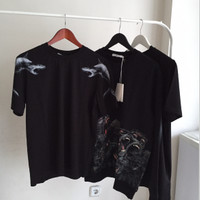 Givenchy cuban fit Shark Print T-Shirt