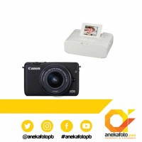 Canon EOS M 10 kit 15-45 Black + Printer CP 1200