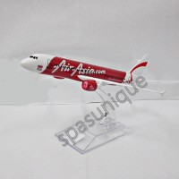 Pajangan Miniatur Diecast Pesawat AirAsia1