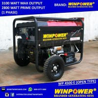 Genset - Generator Winpower 3000 Watt - Electric Starte Diskon