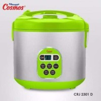 Cosmos CRJ-2301D Penanak Nasi Digital Rice Cooker 5in1 Delay Timer 2L