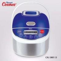 Cosmos CRJ-3801D Penanak Nasi Digital Rice Cooker 6in1 3D Heating 1L