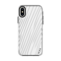 TUMI iPhone X 19 Degree Case - Metallic Silver