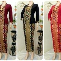 Couple Batik / Baju Batik / Setelan Kebaya Dress Batik Kebaya Denada