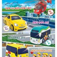 Tayo the Little Bus Mini Toy 4 Set Air Peanut Kinder Shine