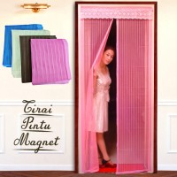 Tirai Pintu Magnet Solusi Pencegah Serangga Masuk