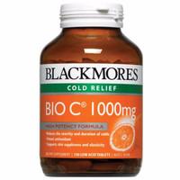 Jual blackmores black mores vitamin C vit c bio c 1000 mg 150 tabs Murah
