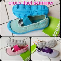 sepatu crocs skimmer kids/sepatu skimmer anak2/crocs anak/crocs cewe