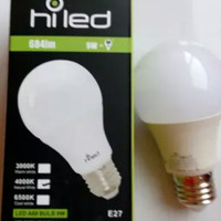 LAMPU BOHLAM / LAMPU BULB LED HILED 9 WATT NATURAL WHITE 4000K