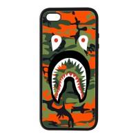 Casing Iphone 5 5s SE Case face shark bape supreme