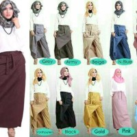 Rok Celana 2in1 by Rindiya Hijab