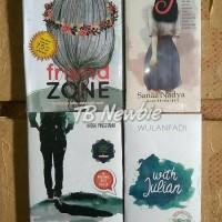 BUKU NOVEL 4 novel wattpad terbaru friendzone, freya, kakak kelas,
