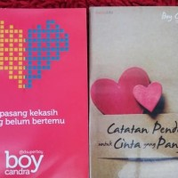 NOVEL 1 paket isi 10 Novel karya BOY CANDRA