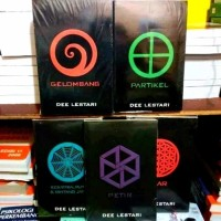 NOVEL TERBARU PAKET 5 NOVEL DEE LESTARI SUPERNOVA