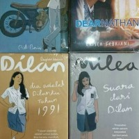 NOVEL Best Seller PAKET NOVEL DILAN + DEAR NATHAN